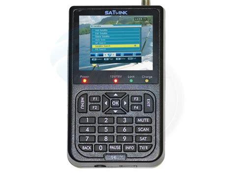 satlink ws  dvb  digital satellite dish signal finder