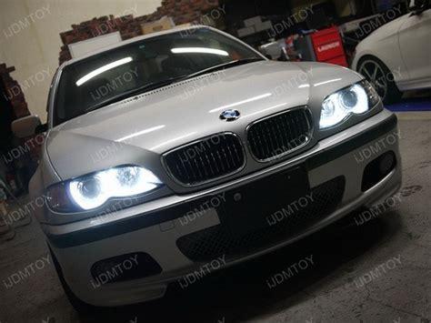 Bmw Halo Lights by Bmw 330i Sedan Led Eye Halo Rings Upgraded Ijdmtoy