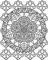 Coloring Pages Therapy Mandala Printable Colouring Sheets Adult Adults Drawings Sheet Books Printing Painting Flower Template Animal Different sketch template