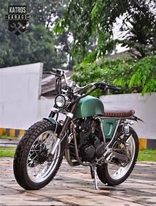 Racing Caf U00e8  Yamaha Scorpio By Katros Motorcycles