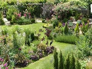 Jardins à L Anglaise : jardin l 39 anglaise fleurs jardins pinterest ~ Melissatoandfro.com Idées de Décoration