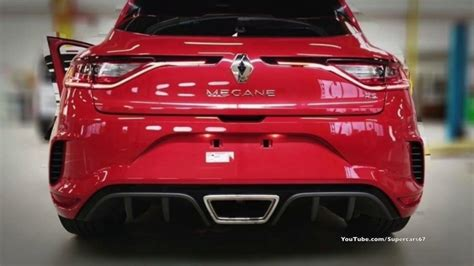 Leaked 2019 New Red Renault Megane Rs Youtube