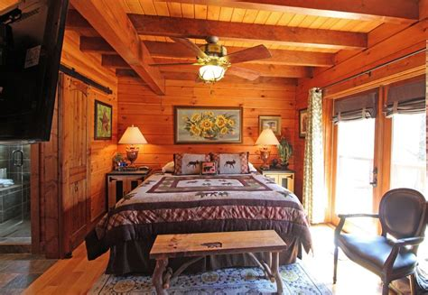 large bedroom secluded luxury cabin bryson city nc