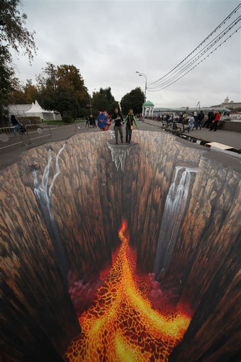 5 Awesome 3d Chalk Art Images