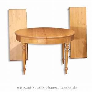 Runde Tischdecken Landhausstil : est 17 r esstisch tisch rund ausziehbar landhausstil ~ Watch28wear.com Haus und Dekorationen