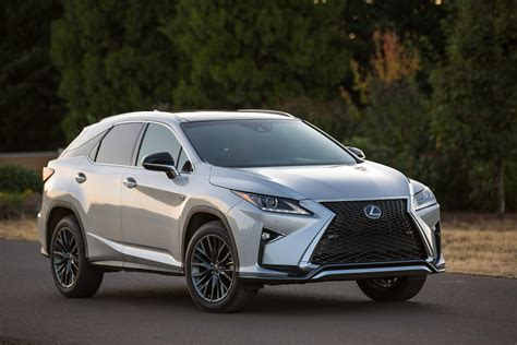 2016 Lexus Rx Hybrid Offers Flexibility, Functionality And