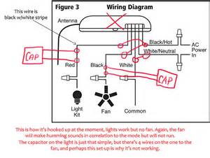 wiring diagram for a hunter ceiling fan get free image