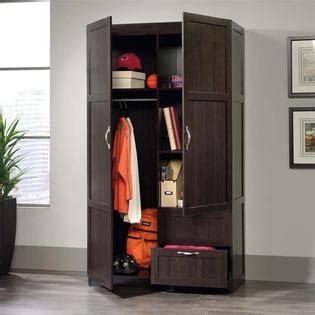 Sauder Wardrobe Storage Cabinet by Sauder Select Wooden Wardrobe Storage Cabinet Sears