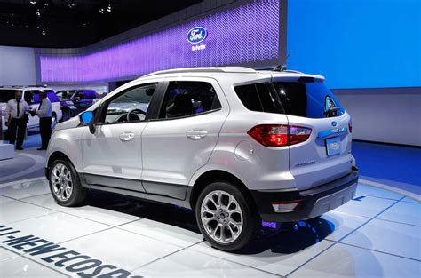 ford ecosport previewed     model autocar