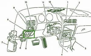 1999 Chevy Prizm Dash Fuse Box Diagram