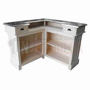 Meuble Bar Angle : bar d 39 angle en pin massif meuble bistrot ~ Melissatoandfro.com Idées de Décoration