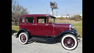 1930 Ford Model A Deluxe Fordor Town Sedan    For Sale