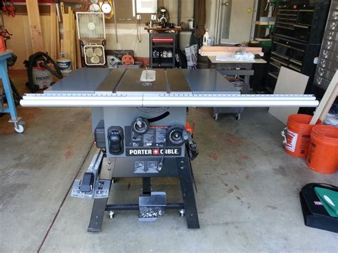 porter cable table saw pcb270ts review porter cable table saw model pcb270ts the workbench