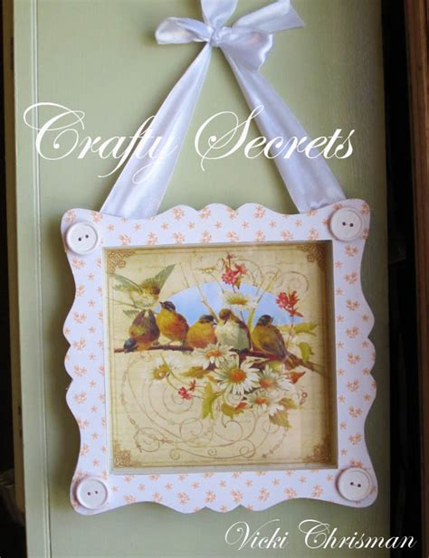 This Art That Makes Happy Springy Altered Frame