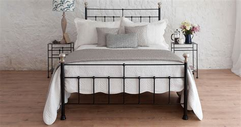 Sophie Double Iron Bed  Wrought Iron & Brass Bed Co