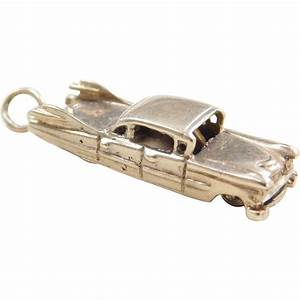 Charmes Automobile : vintage 14k gold charm 1959 cadillac automobile moves car from arnoldjewelers on ruby lane ~ Gottalentnigeria.com Avis de Voitures