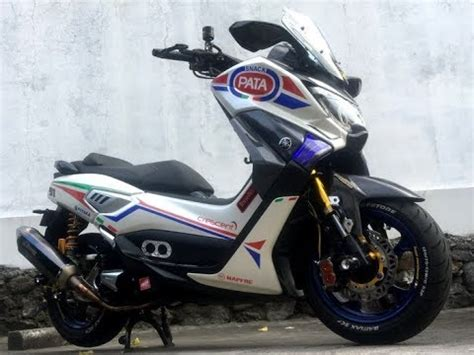 Yamaha Nmax Modification by Modification Yamaha Nmax With The Style Superbike
