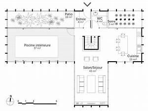plan maison avec piscine interieure ooreka With plan de maison avec piscine interieure