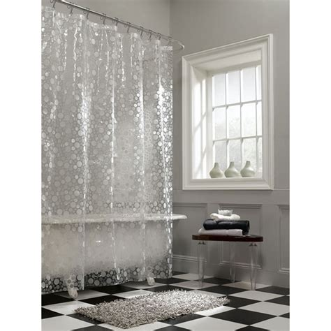 clear shower curtain awesome clear shower curtain with design homesfeed