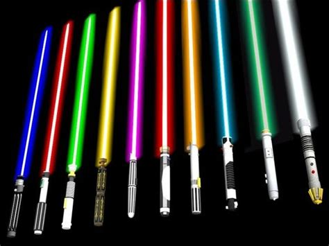 what color is your lightsaber what is your lightsaber color playbuzz