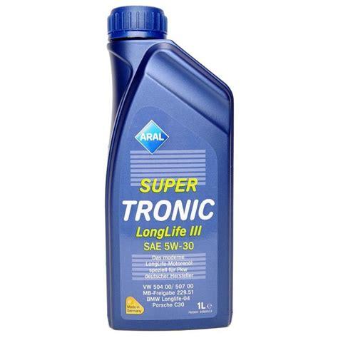 aral tronic longlife iii 5w 30 aral tronic longlife iii 5w 30 1ltr
