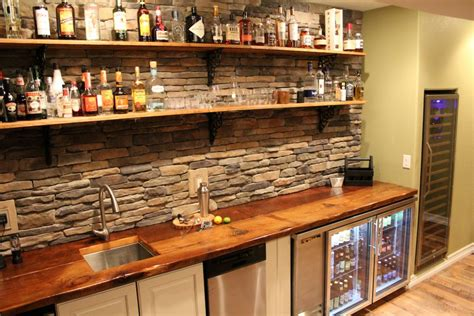using wall cabinets for bar wall bar diy how to attach countertop without cabinets