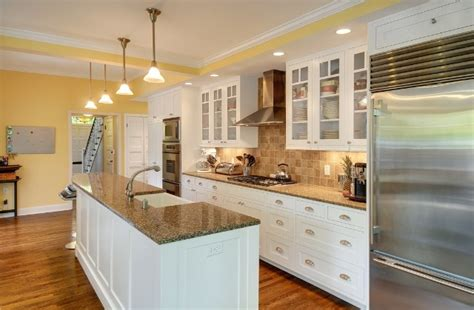 galley kitchen island kitchen green painted wood kitchen cabinet with stove and