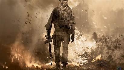 Duty Call Warfare Modern Wallpapers Ops Mw2