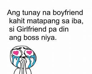 Sweet Tagalog L... Linoko Ng Boyfriend Quotes