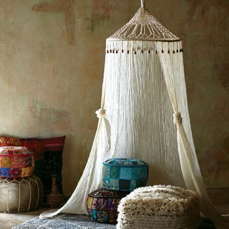 boho sheer cotton macrame canopy world market kids room macrame canopy bedroom diy canopy