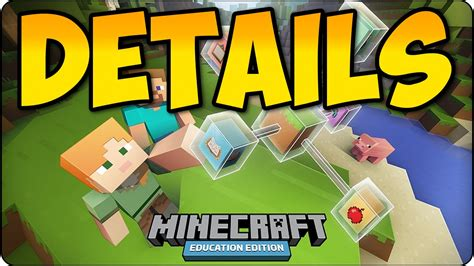 minecraft education edition details release date