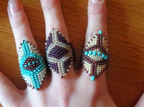 perle de rocaille les perlages de tatinat bagues perles rocailles bijoux