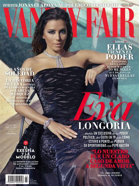 Vanità Fair Longoria Vanity Fair Magazine Mexico March 2016 Issue