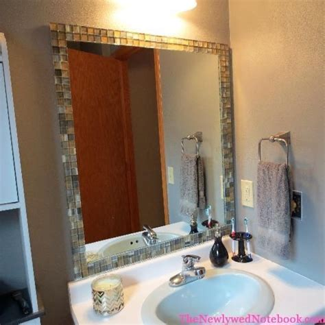 Tiled Bathroom Mirrors by 49 Best Mirror Border Ideas Images On