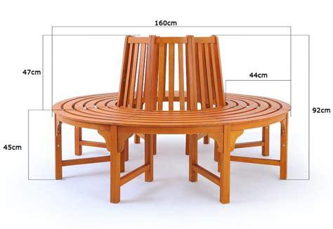 banc de jardin circulaire bois exotique  cm