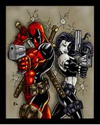 Deadpool And Domino Ki...