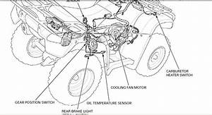 Honda 350 Rancher Rear End Diagram