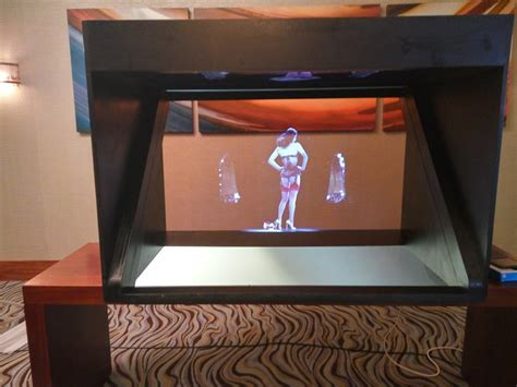 One Sided Landscape 3d Holographic Display