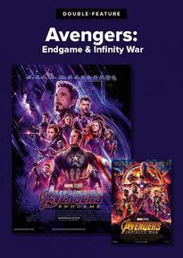 double feature avengers infinity war endgame