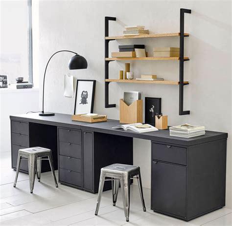 bureau pour deux bureau ampm