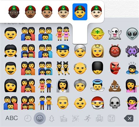 All The New Emojis Apple Added In Ios 8.3 In One Image