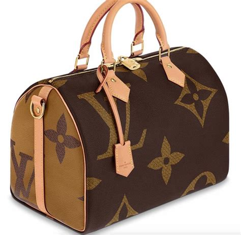 Louis Vuitton Top Handle Tote Speedy Bandouliere 30 Giant ...