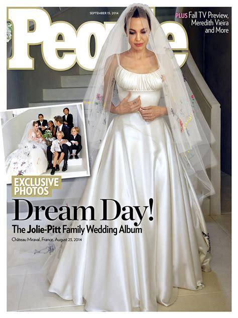 costco wedding dresses photos from brad pitt s wedding must see wedding dress