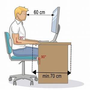 Bureau Plan De Travail : adopter une bonne position assise au bureau mal de dos ~ Preciouscoupons.com Idées de Décoration