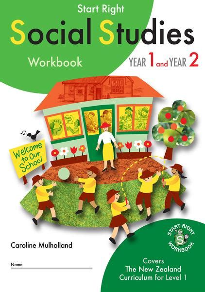 Year 1 and Year 2 Social Studies Start Right Workbook ...