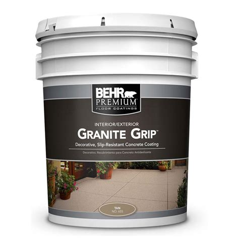behr 5 gal 65505 granite grip interior exterior