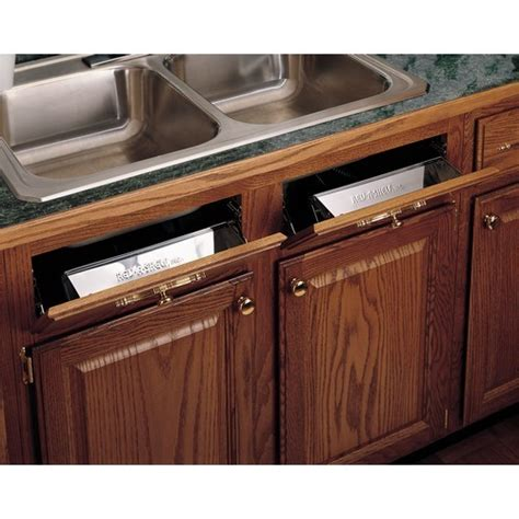 sink tip out tray 16l stainless steel sink tip out tray set standard depth