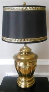What Is A Finial On A Lamp by Vintage Brass Lamp With Greek Key Trim