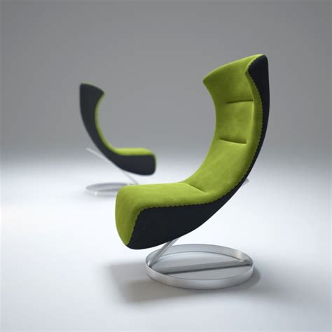 chaise oeuf oversized lounge chair nico 3d max