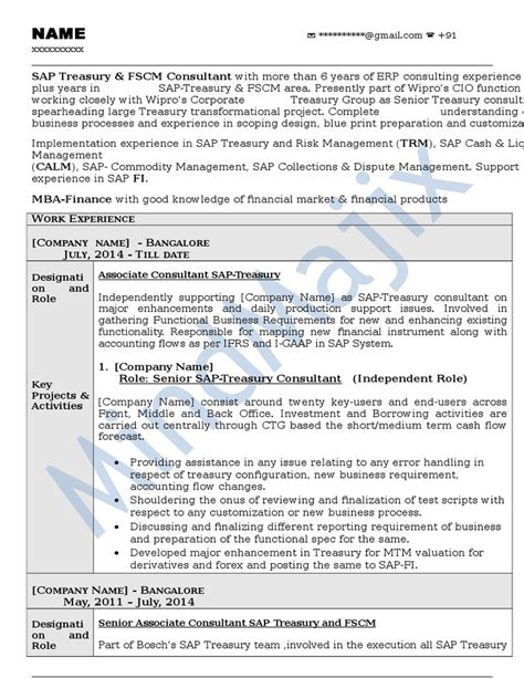 peoplesoft hrms functional consultant resume resume ideas